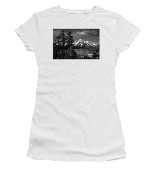 Mt. Moran And Trees Women's T-Shirt