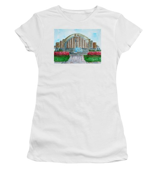 Museum Center Women's T-Shirt (Athletic Fit)