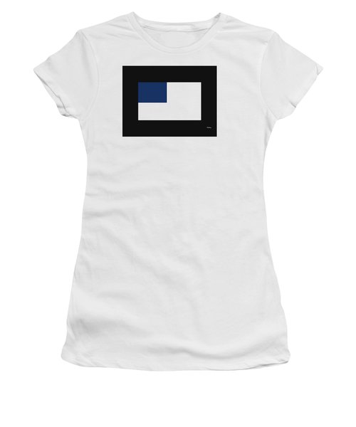 Women's T-Shirt (Junior Cut) featuring the digital art Music Notes 14 by David Bridburg