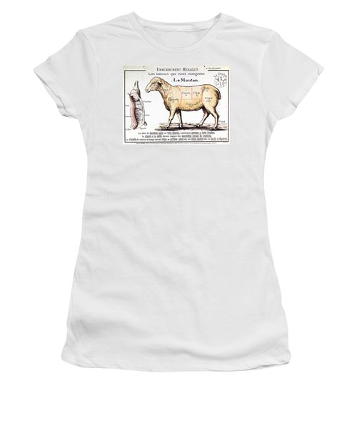 Mutton Women's T-Shirt (Athletic Fit)