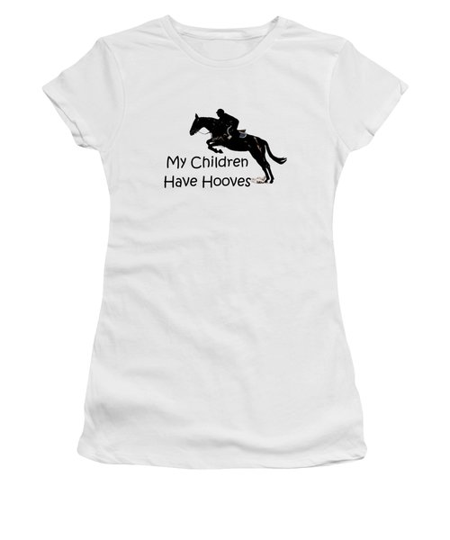 My Children Have Hooves Women's T-Shirt (Athletic Fit)