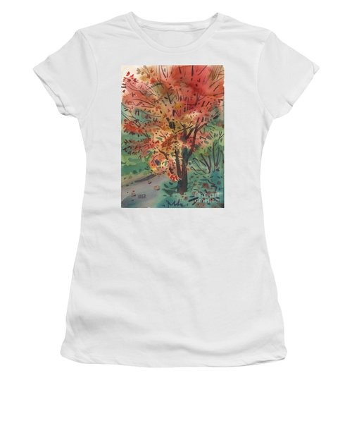 My Maple Tree Women's T-Shirt (Athletic Fit)