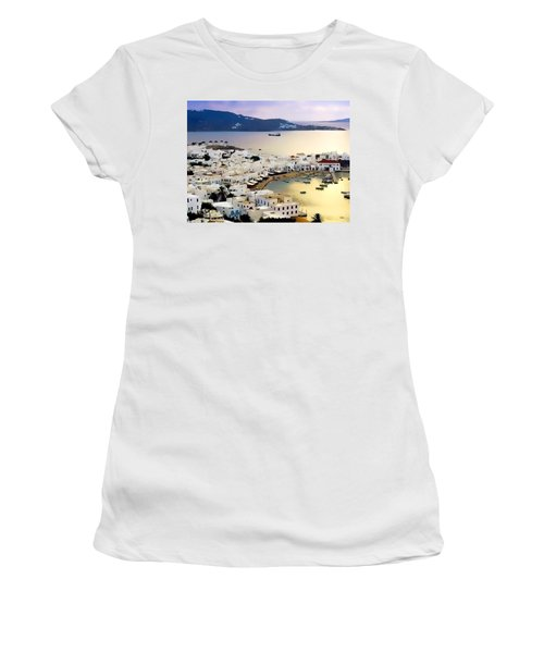 Mykonos Greece Women's T-Shirt