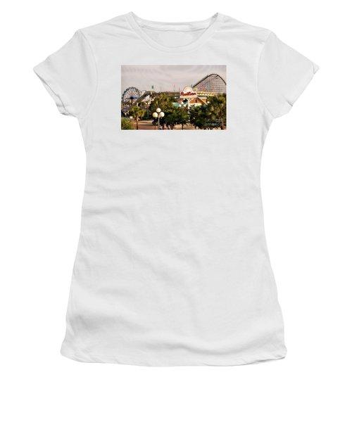 Myrtle Beach Pavillion Amusement Park Women's T-Shirt (Athletic Fit)