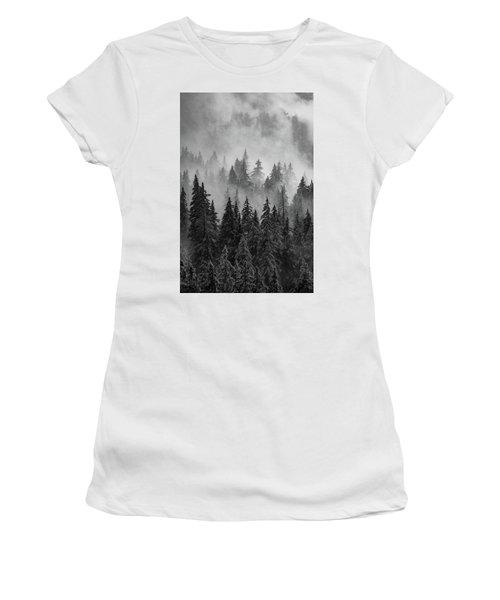 Women's T-Shirt (Junior Cut) featuring the photograph Mystic  by Dustin LeFevre