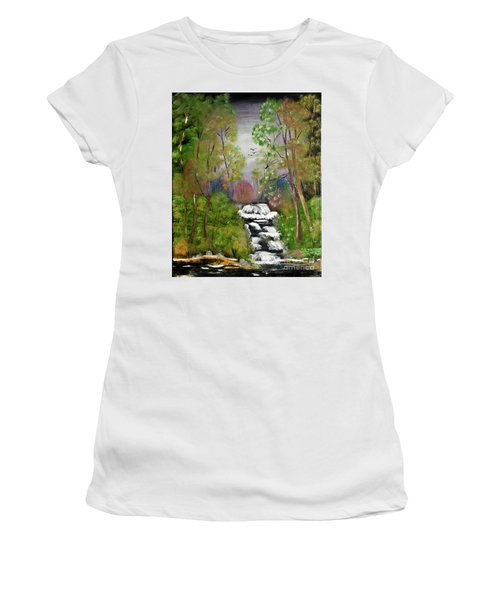 Mystic Fall Women's T-Shirt (Athletic Fit)