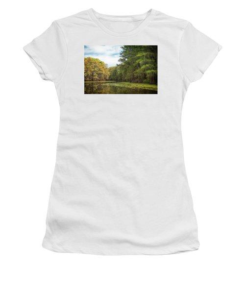 Mystic River Women's T-Shirt (Athletic Fit)