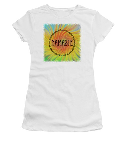 Namaste Divine And Honor Swirl Women's T-Shirt