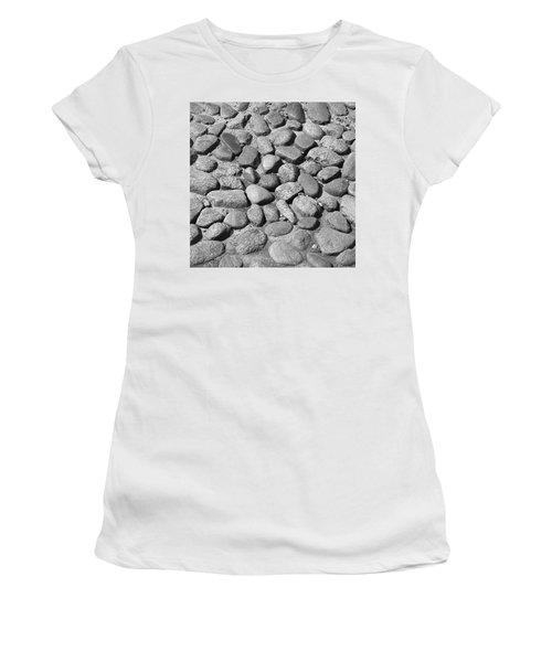 Nantucket Cobblestones Women's T-Shirt (Athletic Fit)