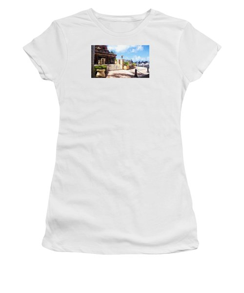 Naples Scenic Places Women's T-Shirt (Athletic Fit)