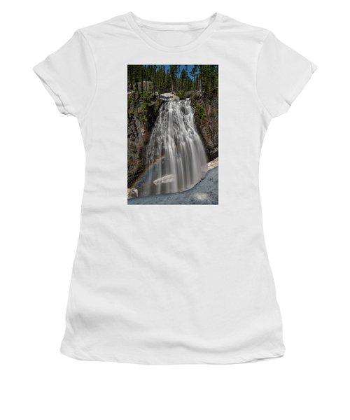 Narada Falls In Winter Women's T-Shirt