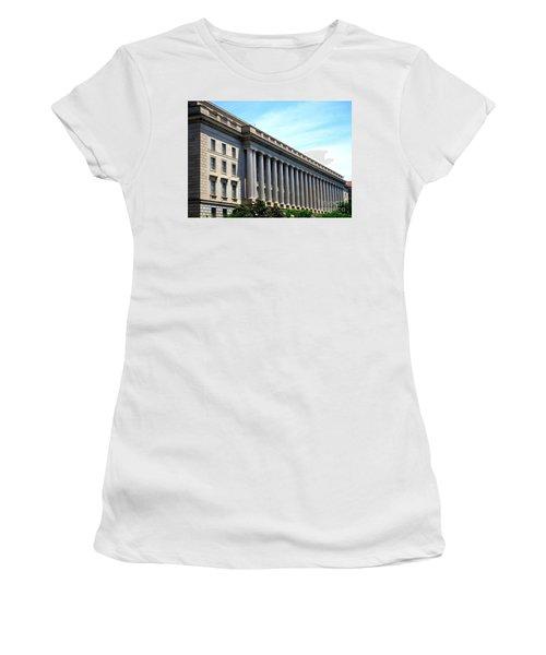 National Archives 2 Women's T-Shirt (Junior Cut) by Randall Weidner