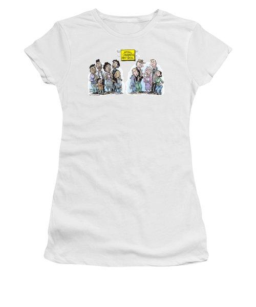 National Conversation About Race Women's T-Shirt