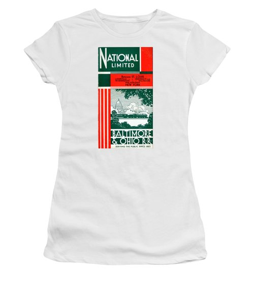 National Limited Women's T-Shirt (Athletic Fit)