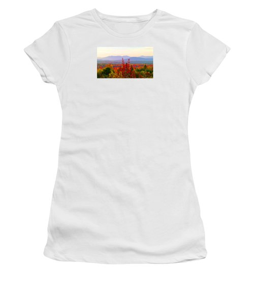National Scenic Byway Women's T-Shirt (Athletic Fit)