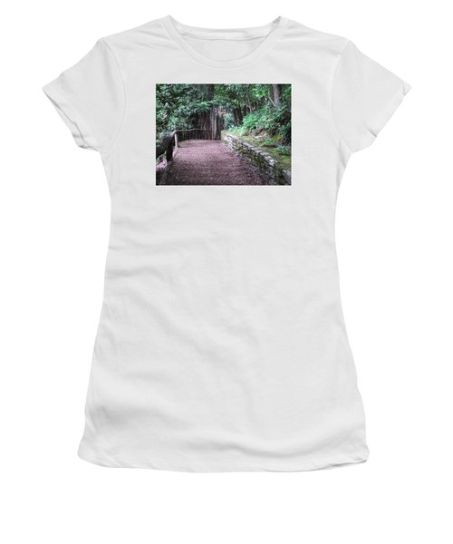 Nature Trail Women's T-Shirt (Junior Cut) by Cathy Harper