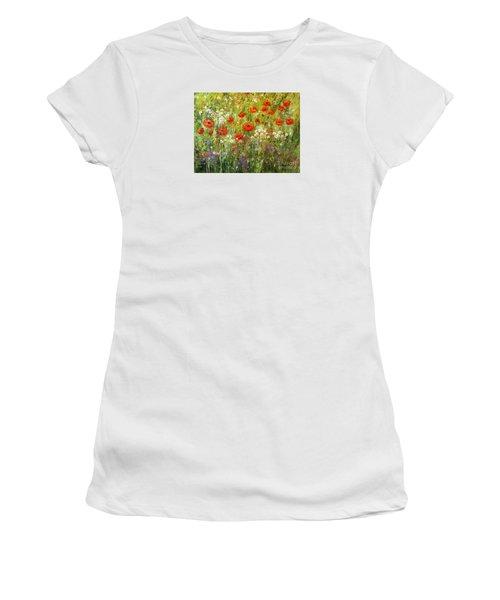 Nature Walk Women's T-Shirt (Junior Cut) by Valerie Travers