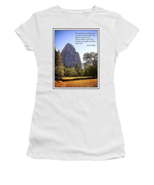 Natures Cathedral Women's T-Shirt
