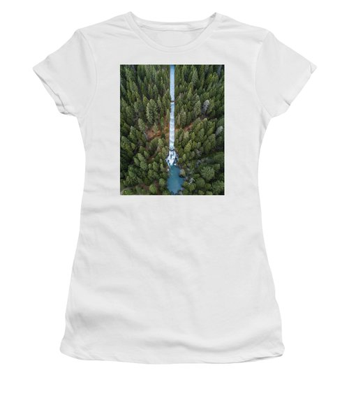 Natures Waterslide  Women's T-Shirt
