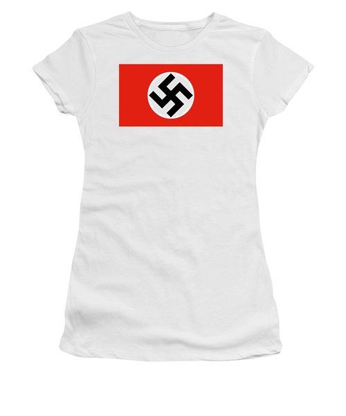 Nazi Flag 1920-1945 Women's T-Shirt (Athletic Fit)