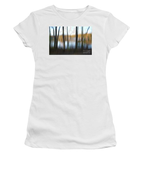 Near The Water Women's T-Shirt (Athletic Fit)