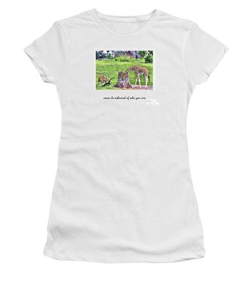 Never Be Ashamed Women's T-Shirt