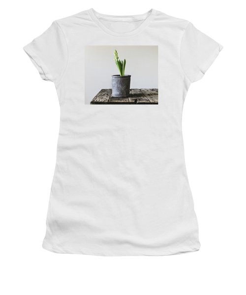 Women's T-Shirt (Athletic Fit) featuring the photograph New Beginings by Kim Hojnacki
