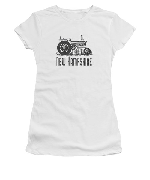 New Hampshire Vintage Tractor Women's T-Shirt