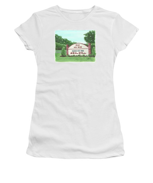 New River Welcome Women's T-Shirt