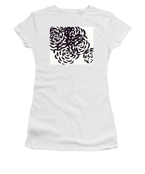 Floral Essence Women's T-Shirt (Junior Cut) by Anita Lewis