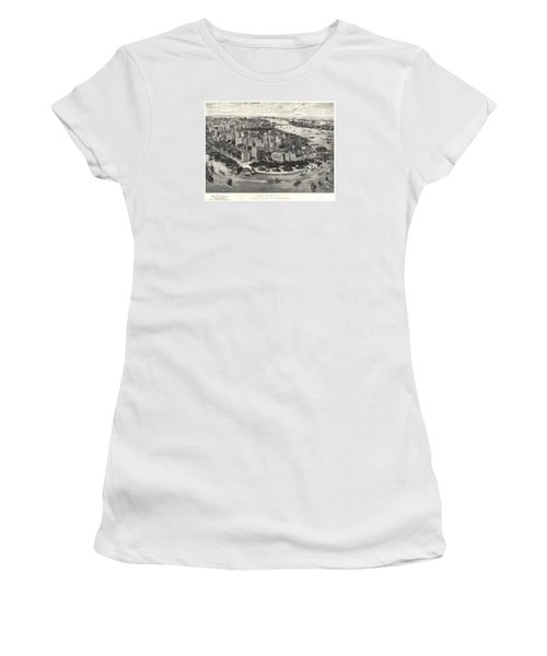 New York City Manhattan 1905 Women's T-Shirt (Athletic Fit)