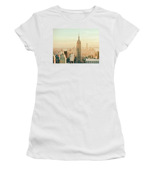 New York City - Skyline Dream Women's T-Shirt (Athletic Fit)
