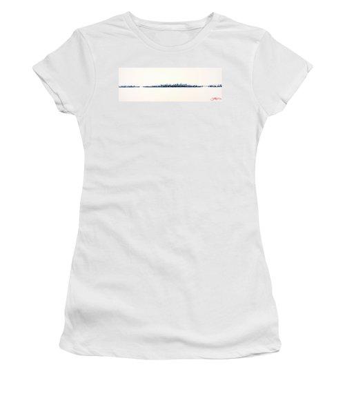 New York City Skyline Women's T-Shirt