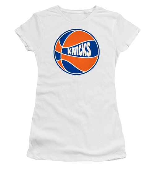 New York Knicks Retro Shirt Women's T-Shirt (Junior Cut)