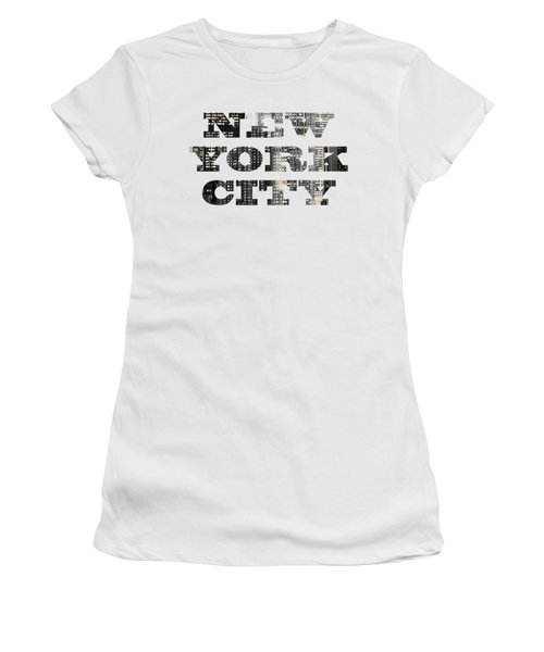 New York Shapes Tee 092717 Women's T-Shirt (Athletic Fit)