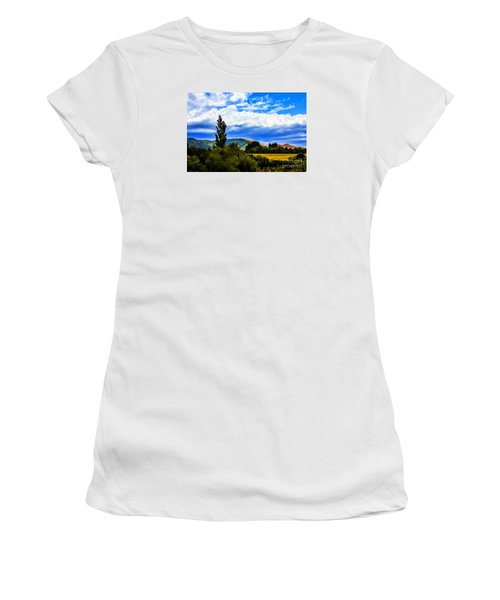 Women's T-Shirt (Junior Cut) featuring the photograph New Zealand Legacy by Rick Bragan
