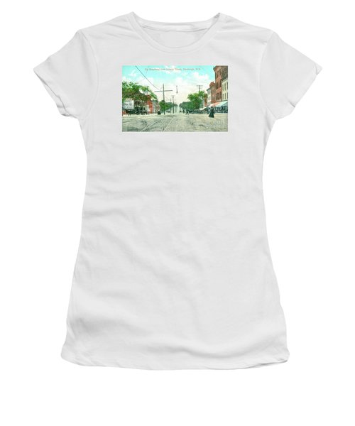 Newburgh Broadway - 09 Women's T-Shirt (Athletic Fit)