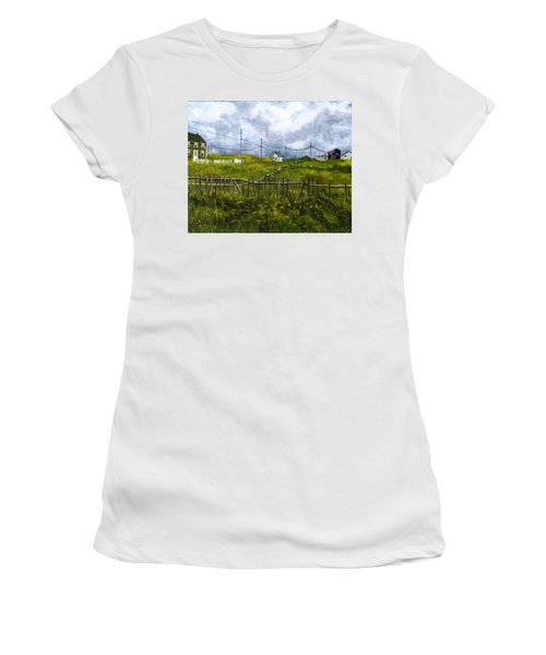 Newfoundland Jig Women's T-Shirt (Athletic Fit)