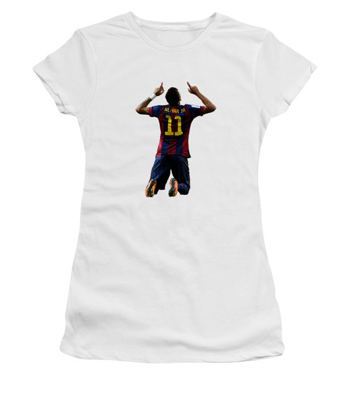 Neymar Women's T-Shirt (Athletic Fit)