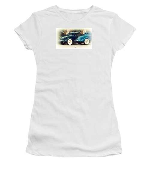 Nice Wheels Women's T-Shirt (Junior Cut) by Chris Armytage