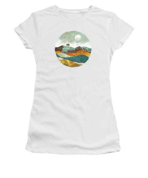 Night Fog Women's T-Shirt (Athletic Fit)