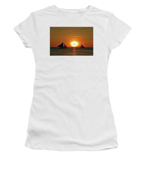 Night Sail Women's T-Shirt