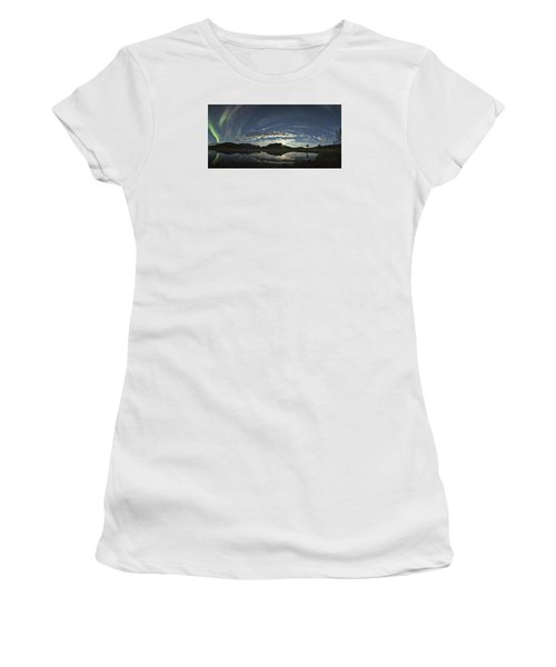 Night Sky Panorama Women's T-Shirt (Athletic Fit)
