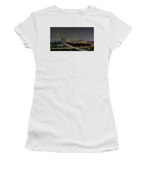 Nightscape Of Seoul Women's T-Shirt