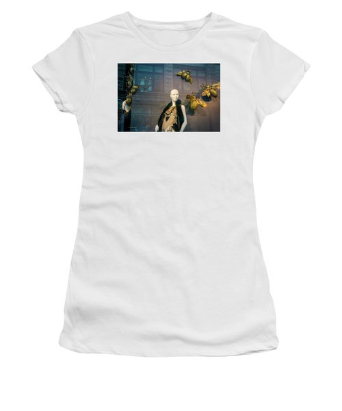 Women's T-Shirt (Athletic Fit) featuring the photograph No Nothing Is Bugging Me by Alex Lapidus