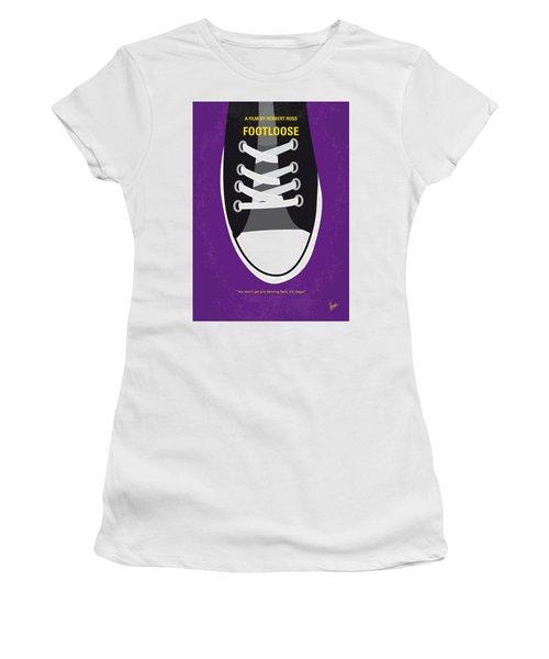No610 My Footloose Minimal Movie Poster Women's T-Shirt