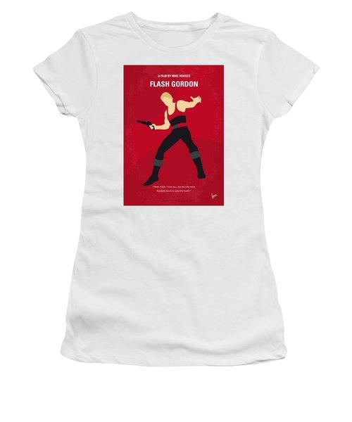 986bce9c9b3969 No632 My Flash Gordon Minimal Movie Poster Women s T-Shirt