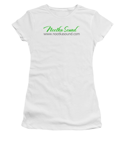 Nootka Sound Logo #10 Women's T-Shirt (Junior Cut) by Nootka Sound