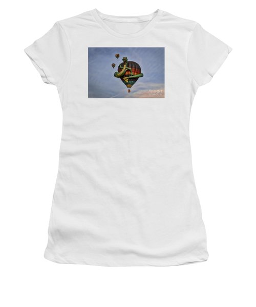 Women's T-Shirt (Junior Cut) featuring the photograph Norman by Mitch Shindelbower