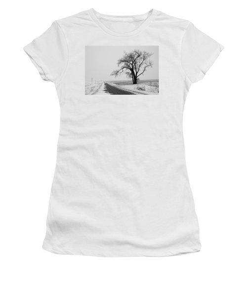 North Dakota Scenic Highway Women's T-Shirt